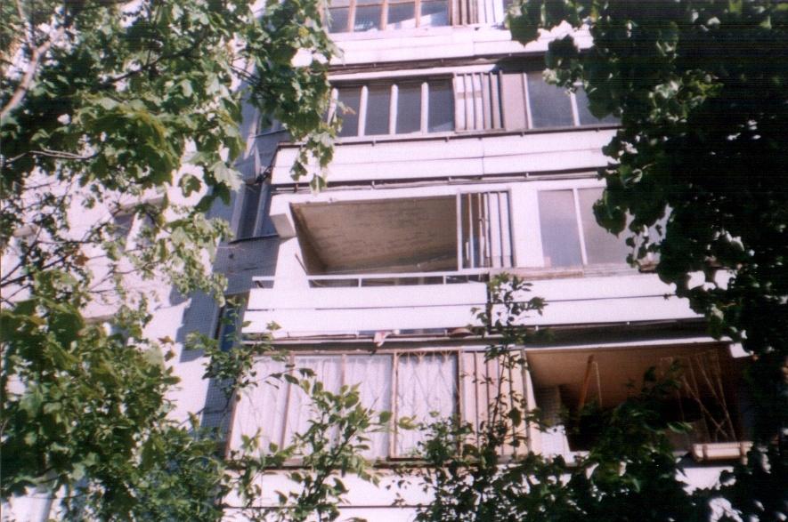 Остекление балконов дом серии 1 515 5..