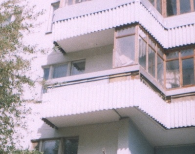 Балконы в доме серии п 3 22. - остекление лоджий - каталог с.
