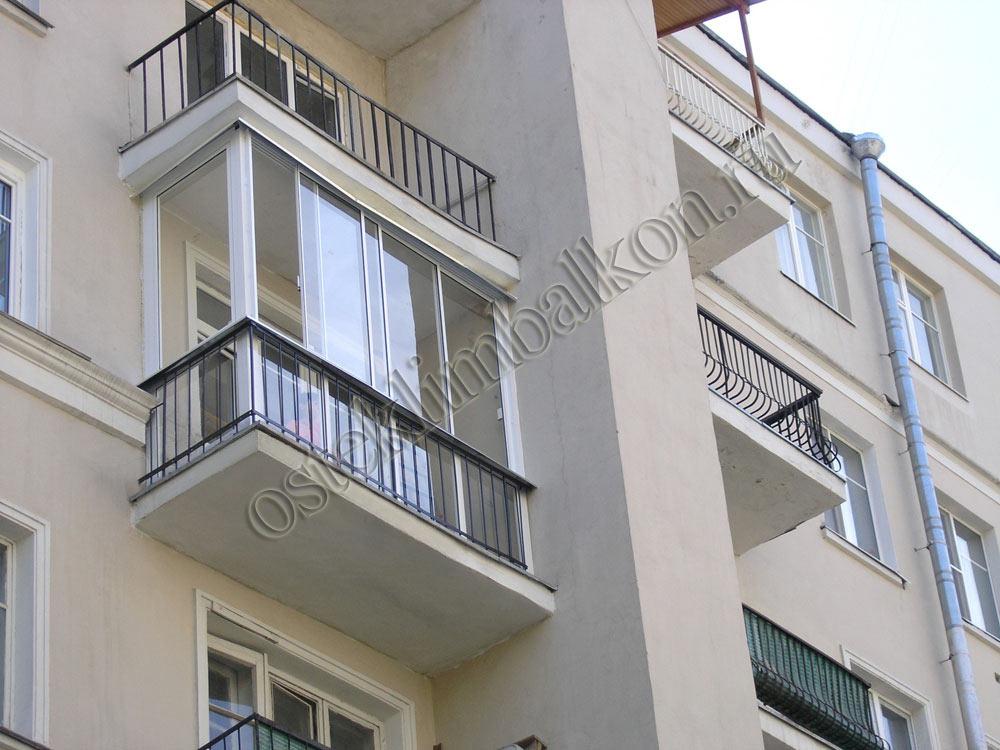 Финское остекление балконов.