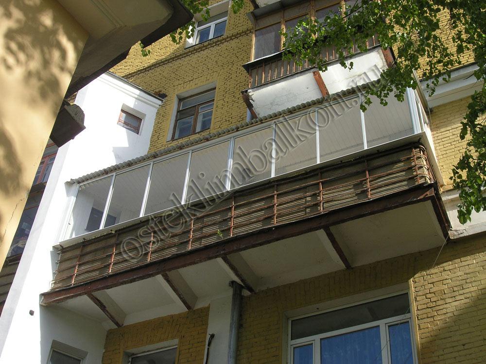 Серия 209а застеклить балкон. - остекление - каталог статей .