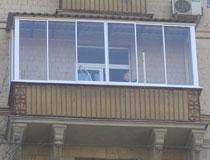 Фотографии финского остекления балконов.